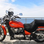 Kawasaki Vulcan 900 Classic Mustang Seat Black Sheepskin Motorcycle Seat Cover
