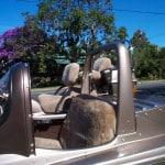 Honda GL 1200 Goldwing Aspencade Cane Sheepskin Motorcycle Seat Cover