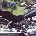 Yamaha Virago XV1100 1991 Black Sheepskin Motorcycle Seat Cover