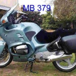 BMW R1100RT 1995 Black