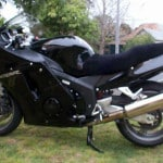 Honda CBR1100XX super blackbird 1997 Black Sheepskin Motorcycle Seat Cover