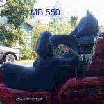 Honda GL1500SE 1998 Black Sheepskin Motorcycle Seat Cover