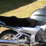 Yamaha FJR1300 2001 Black Sheepskin Motorcycle Seat Cover
