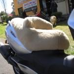 Suzuki AN650 Burgman 2003 Cane Sheepskin Motorcycle Seat Cover