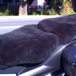 BMW K 1200 GT 2006 Charcoal Sheepskin Motorcycle Seat Cover