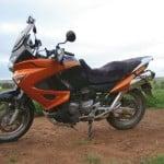 Honda XL 1000 V Varadero 2007- Charcoal Sheepskin Motorcycle Seat Cover