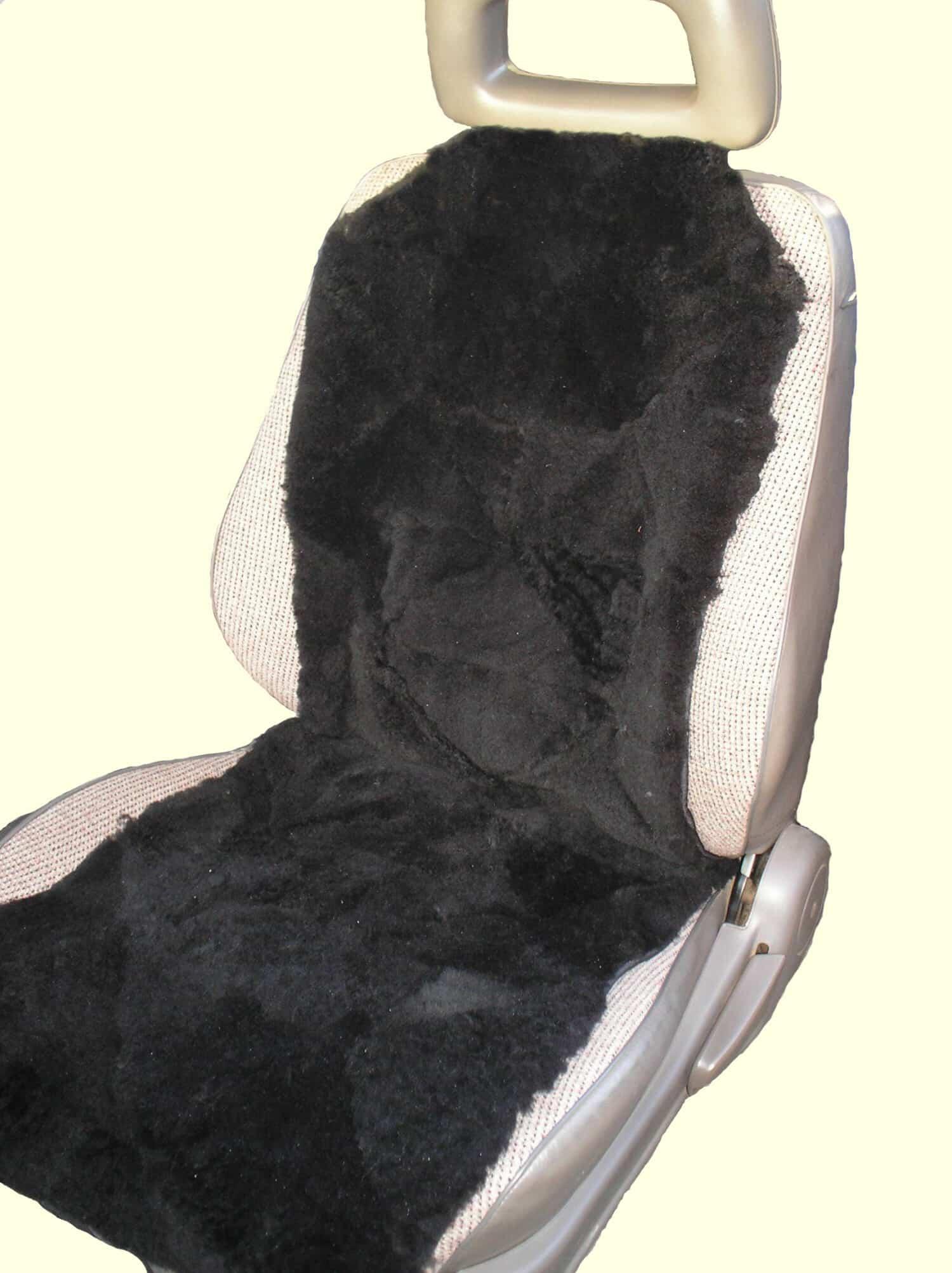 new patchwork sheepskin insert car seat cover ebay. Black Bedroom Furniture Sets. Home Design Ideas