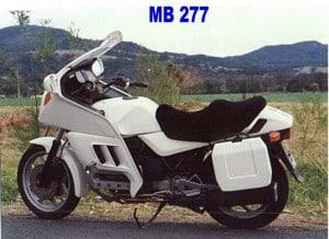 BMW K 100 LT Comfort Seat 1989-1991 Black Sheepskin Motorcycle Seat Cover