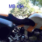 BMW R 1100 S 1998 Black Sheepskin Motorcycle Seat Cover