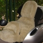BMW K1200LT 1999 Cane Sheepskin Motorcycle Seat Cover