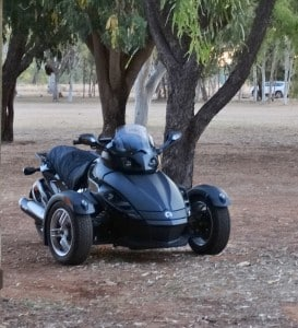 Can Am Spyder RS 2007 Raincover for Sheepskin Motorcycle Seat Cover