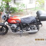 Moto Guzzi V7 2015- with raincover